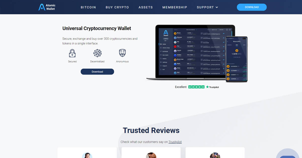Atomic Wallet Screenshot