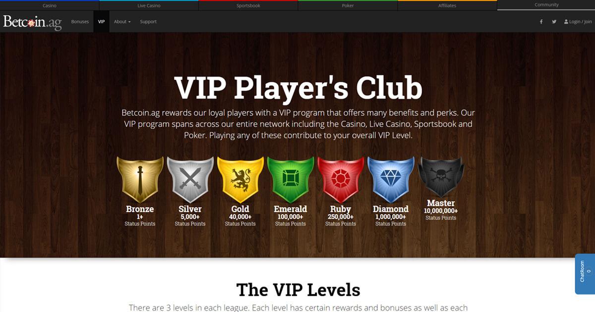 Betcoin.ag Screenshot