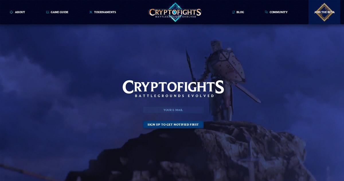 CryptoFights Screenshot