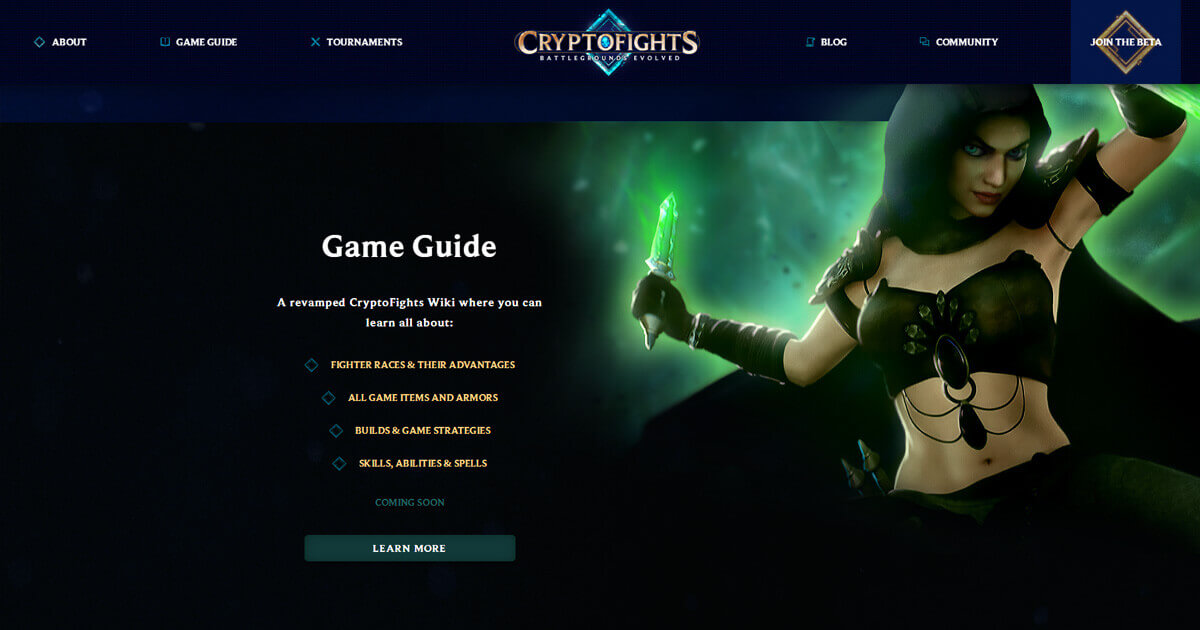 CryptoFights Screenshot