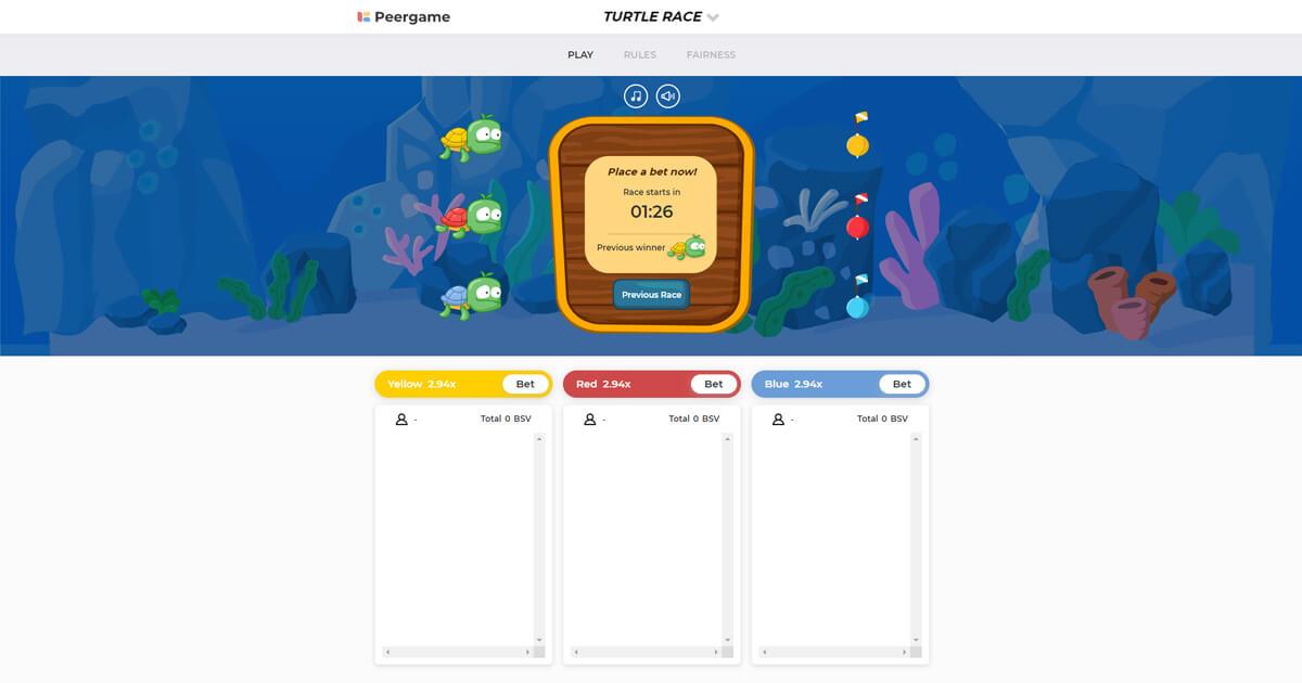 Peergame Screenshot